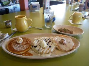 The Pancake Flight at Snooze, Denver