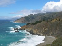 The famous Big Sur Coast of California