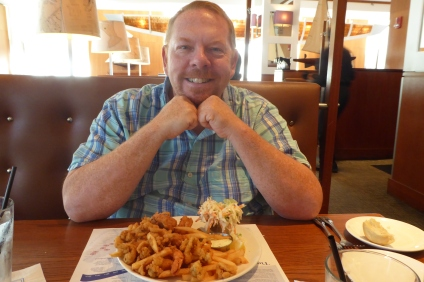 Matt at Legal Seafood, Cambridge, MA
