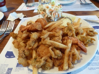 Fried clams and scallops.... the best!