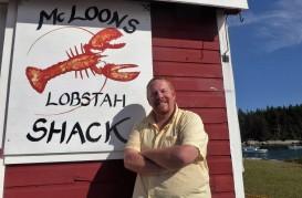 Matt at McLoon's Lobstah Shack