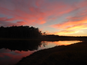 Sunset near Old Orchard Beach