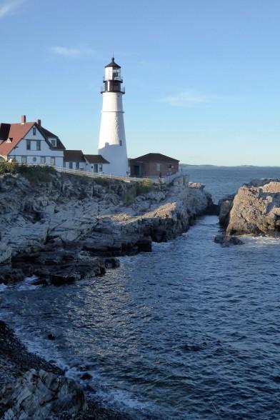 Classic Maine View, Cape Elizabeth Lighthouse