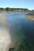 Low tide near Ogunquit