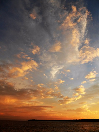 An amazing sky over Fogland