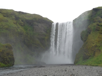 One of Iceland's myriad waterfalls