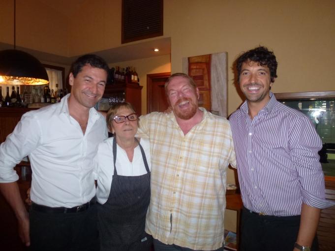 La Famiglia Camerucci and the red headed stepchild!