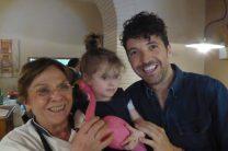 Nonna, Sophia and Zio Daniele