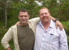 My dear friend Gilles... it's been an amazing visit!