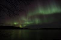 Lights over the lake