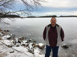 On the banks of Lake Inari at 1PM