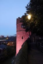 Guard tower on the Chester walls