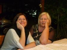 My friend Claudia and Signora Pettenello