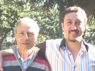 Salvatore and his son Roberto