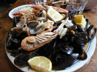 Is there any seafood left in the Mediterranean?
