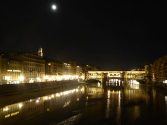 Full Moon over the Arno