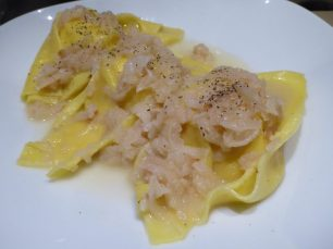 Ravioli with Sweet Cheese and Pear