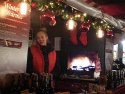 Gluhwein for sale...