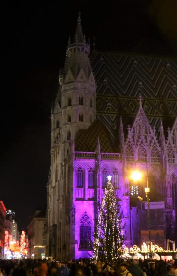 St. Stephan's Cathedral and Christmas Market