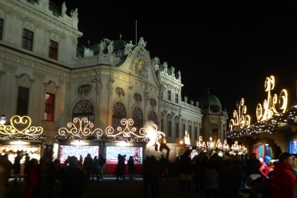 Christmas Market at Vienna's Castle
