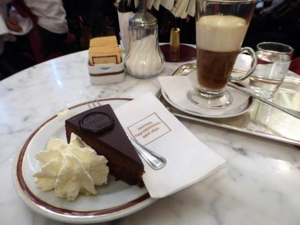And the famous Sacher Torte