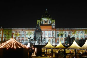 The Museum of Natural History and the Christmas Market