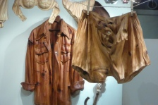"Believe it or not, these ""clothes"" are made of wood!"