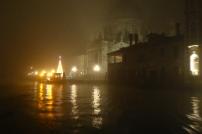 Santa Maria della Salute hiding in a veil of fog