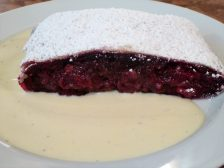Cafe Einstein's Amazing Cherry Strudel