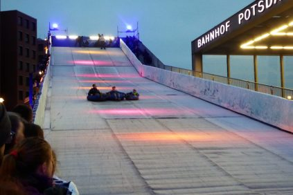 The toboggan slide
