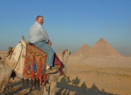 Atop my trusty camel, Michael Jackson