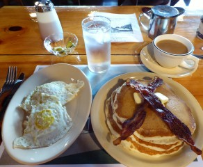 A perfect breakfast at Gould's Sugar House