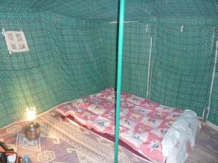 My cozy tent