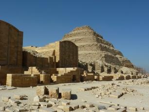 "The ""Wedding Cake"" Pyramid at Saqqara"