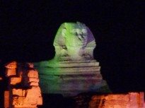The Giza Light and Laser Show