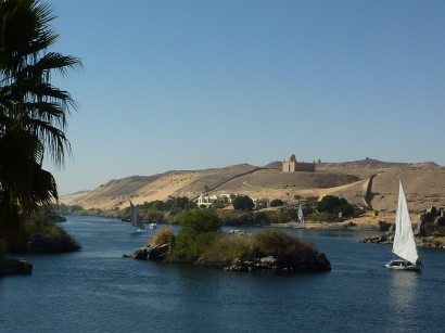 The Niles near Aswan