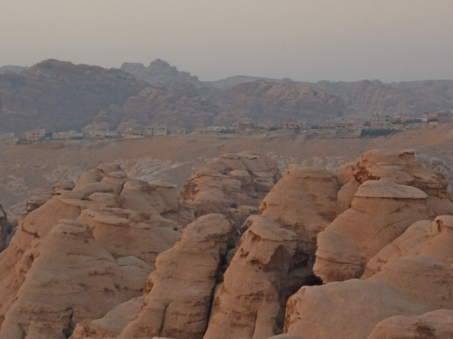 View from my hotel room at Petra