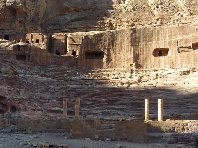 Roman theater at Petra
