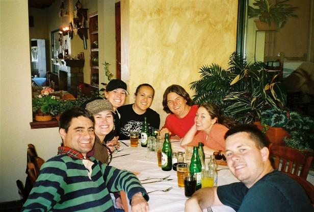 A group dinner