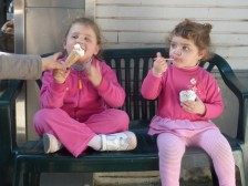 Young gelato experts...