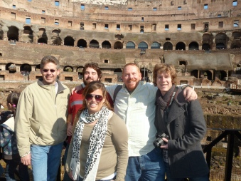 At the Colosseo, Rome