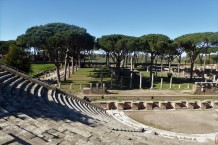 The Theater at Ostia Antica, 1900 years old