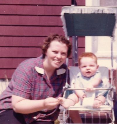 Mama and me, May 1959
