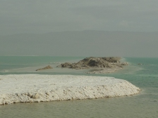 The salt formations of the Dead Sea