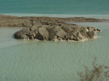 The shores of the Dead Sea