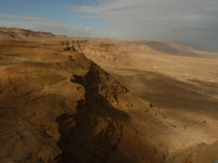 The Judean Desert from Masada