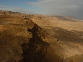 The Judean Desert from Masada