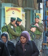 Israeli soldiers and Palestinian women: A complicated city