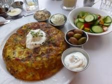 Another stellar Israeli breakfast!