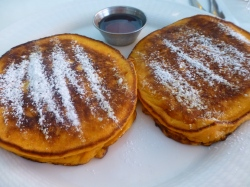 Pumpkin Pancakes at Orna and Ella